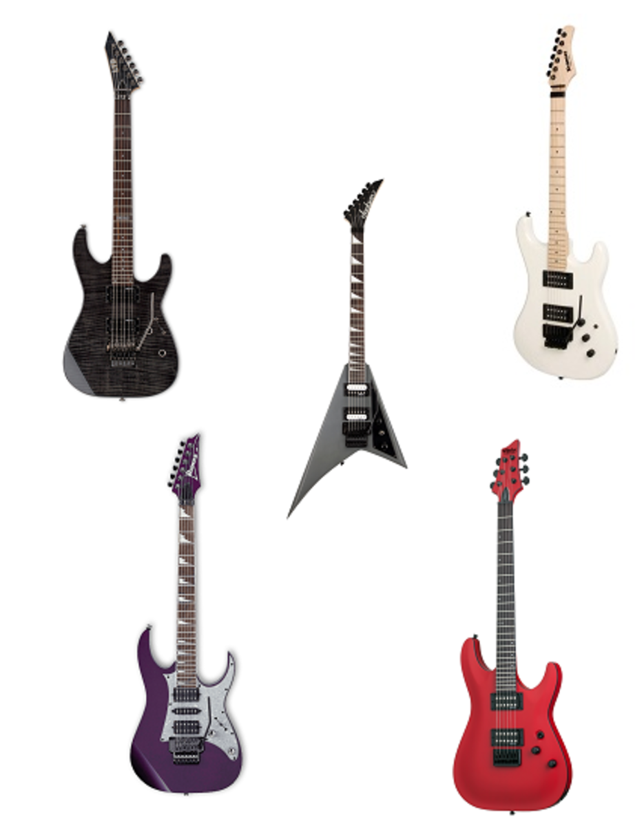 Top 5 Best Electric Guitars For Metal Music Under 500 Dollars