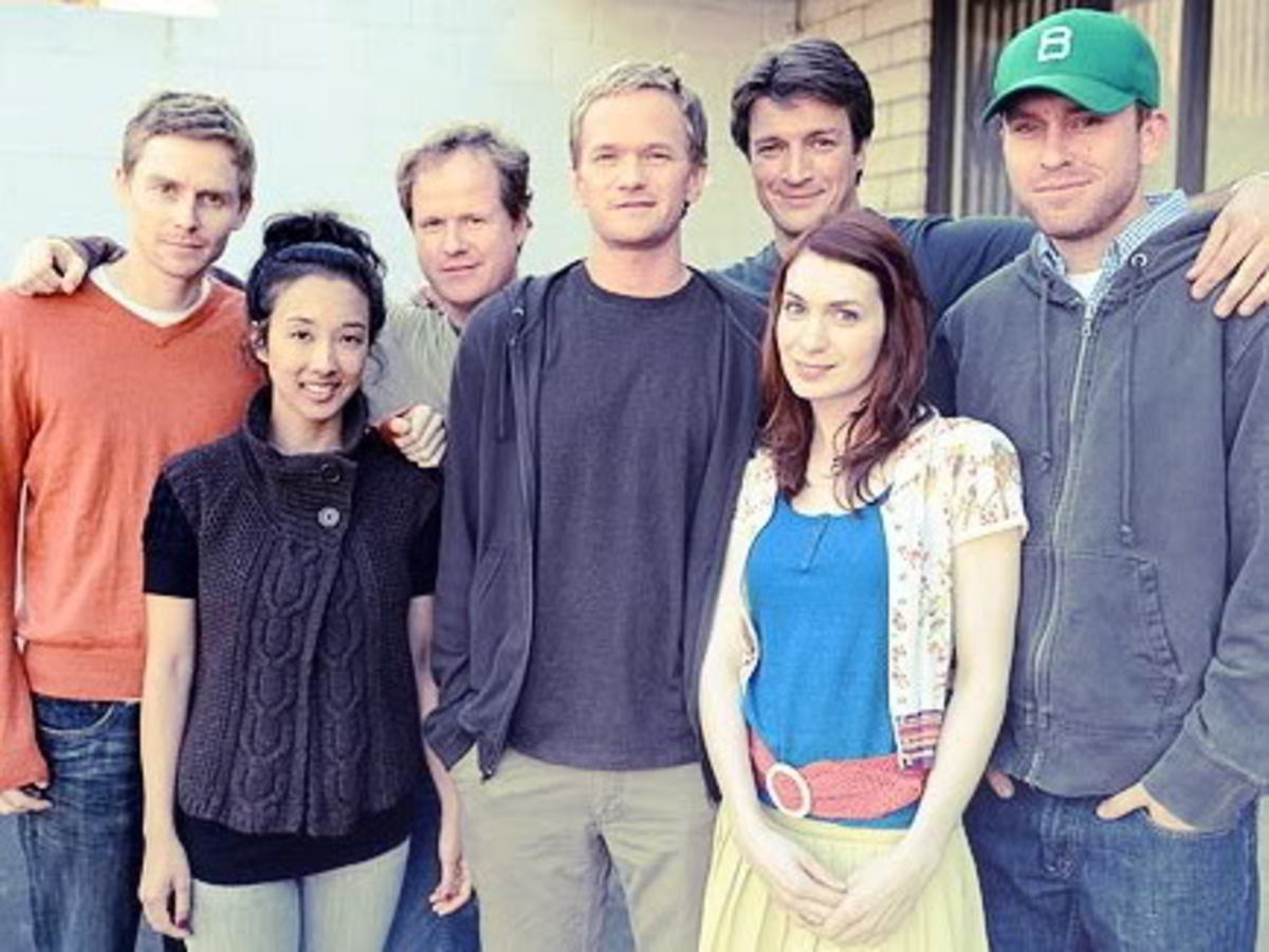 A photo of the cast and crew.