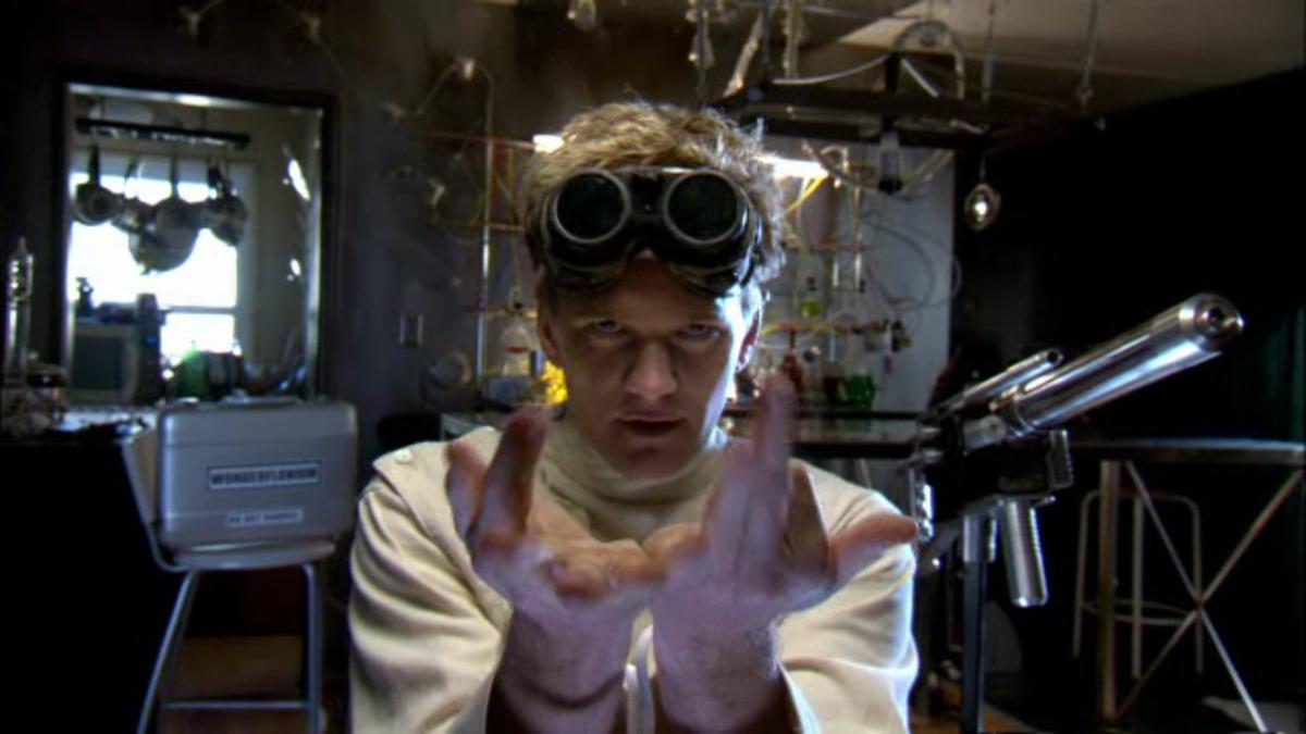 Dr. Horrible plotting.