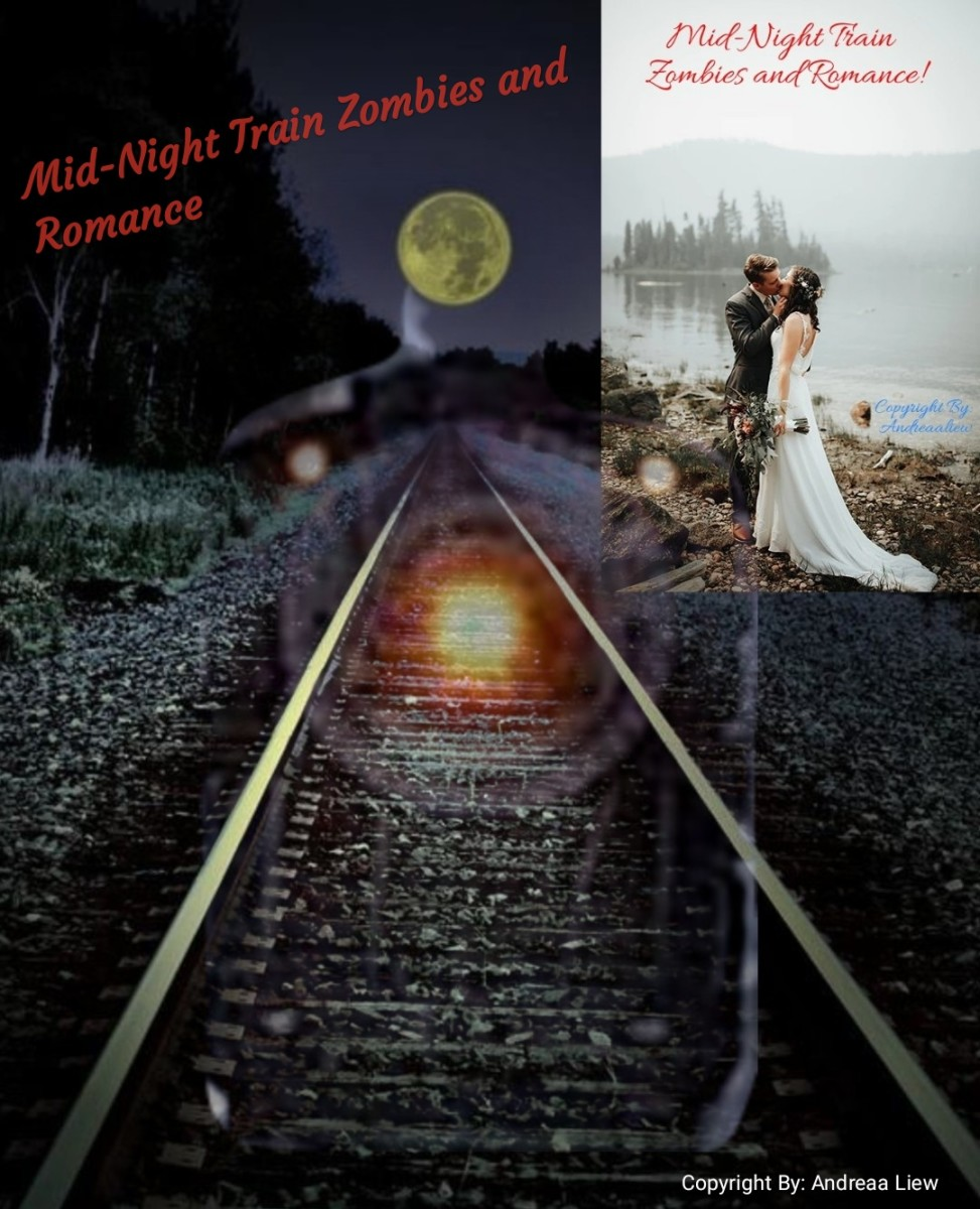 Midnight Train Romance & Zombies: Horror, Romance, Thriller
