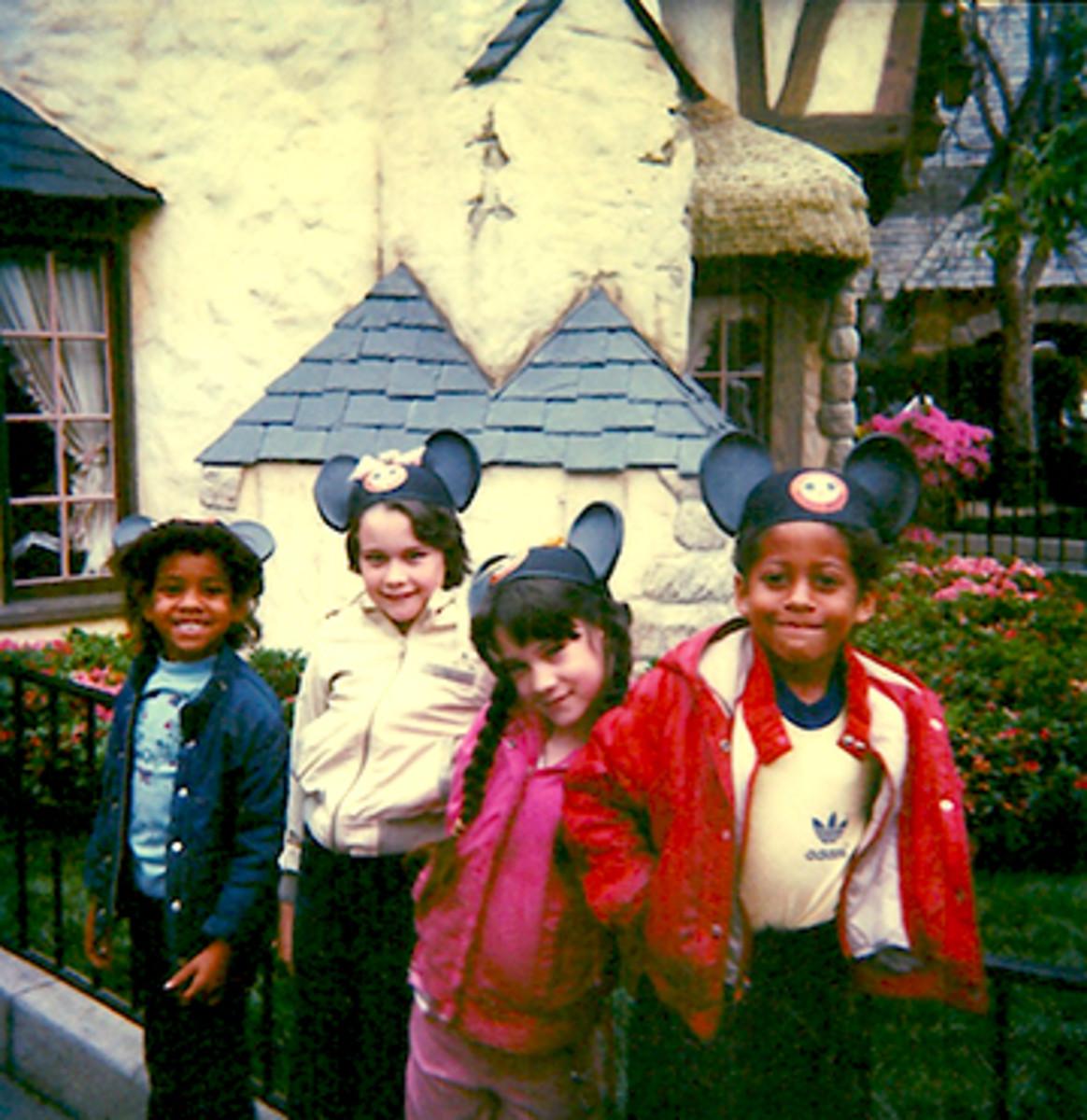 My four, 1986.