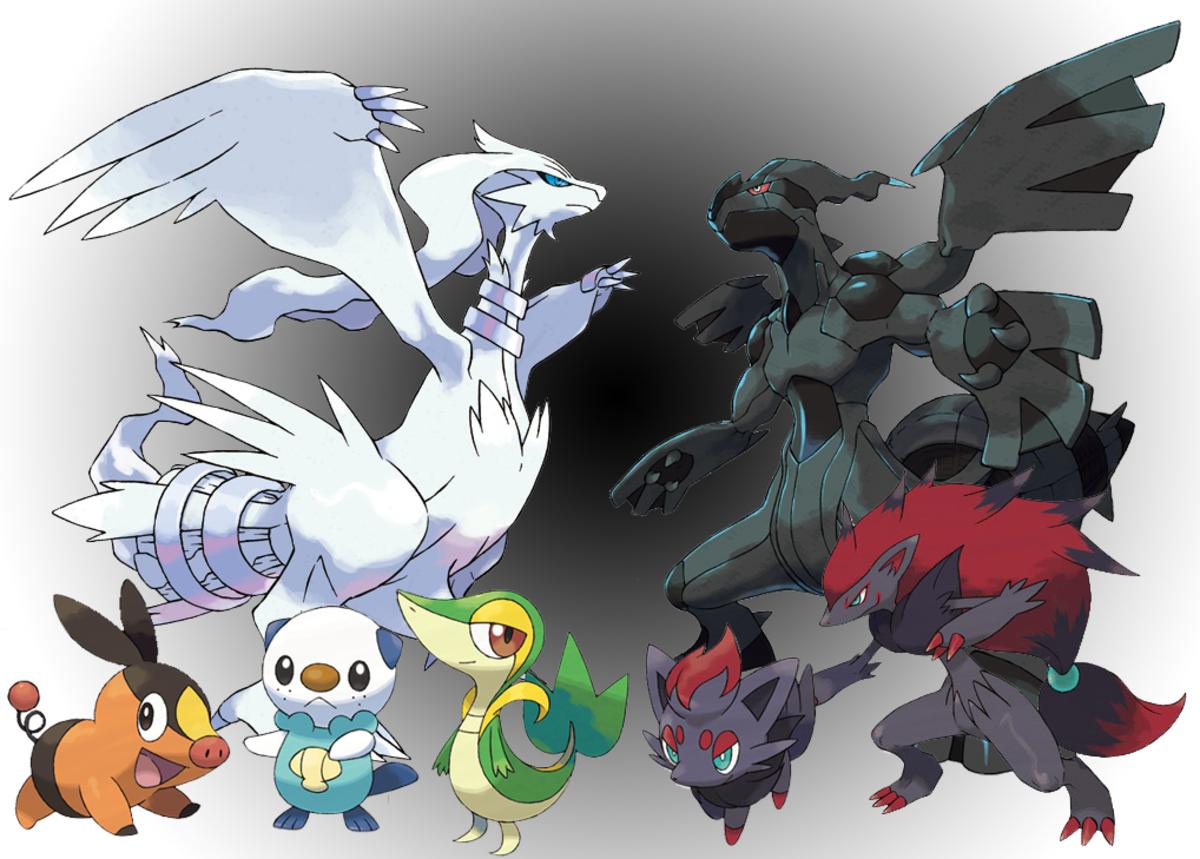 Various Generation 5 Pokemon