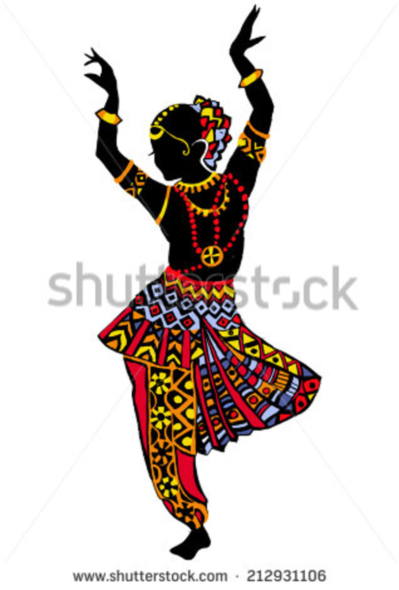 COLLAGE ON Dance forms and culture of India