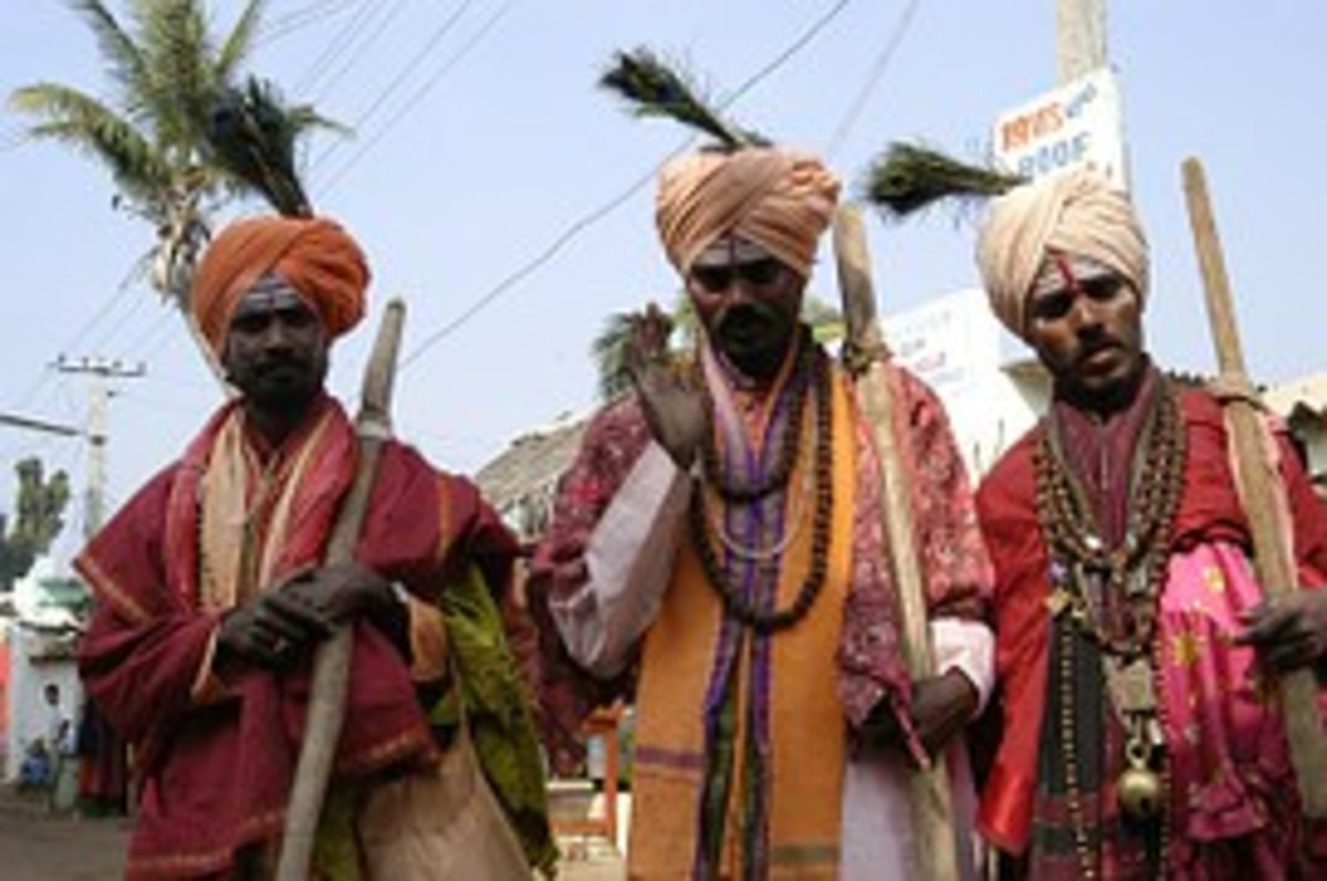 Traditional Folk Dance Of South India