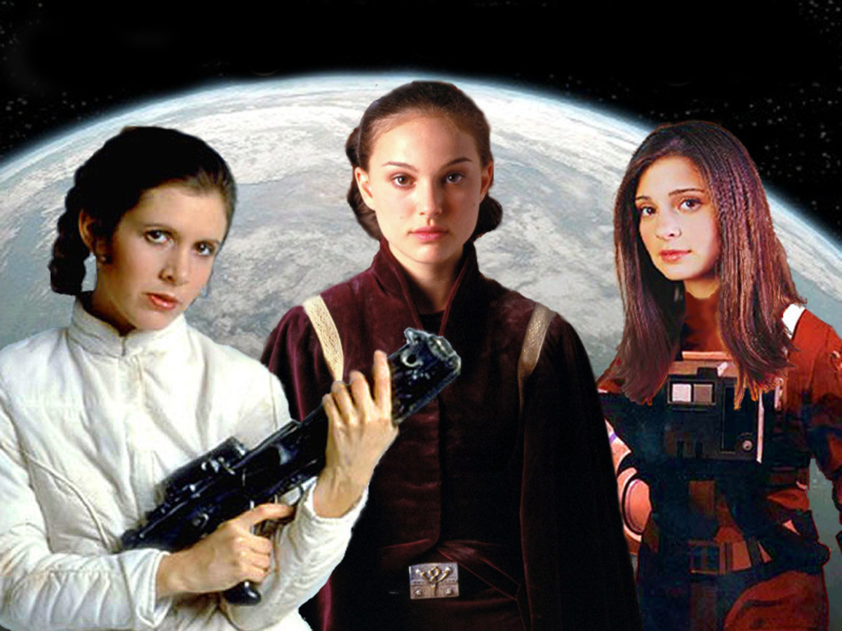Notice the family tree in today's quiz? We have Grandma Padme (middle), mother or Leia (left), who birthed Jaina (right)