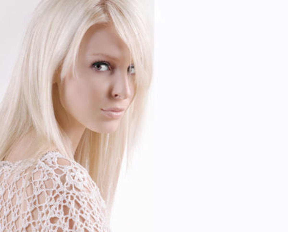 albino-hair