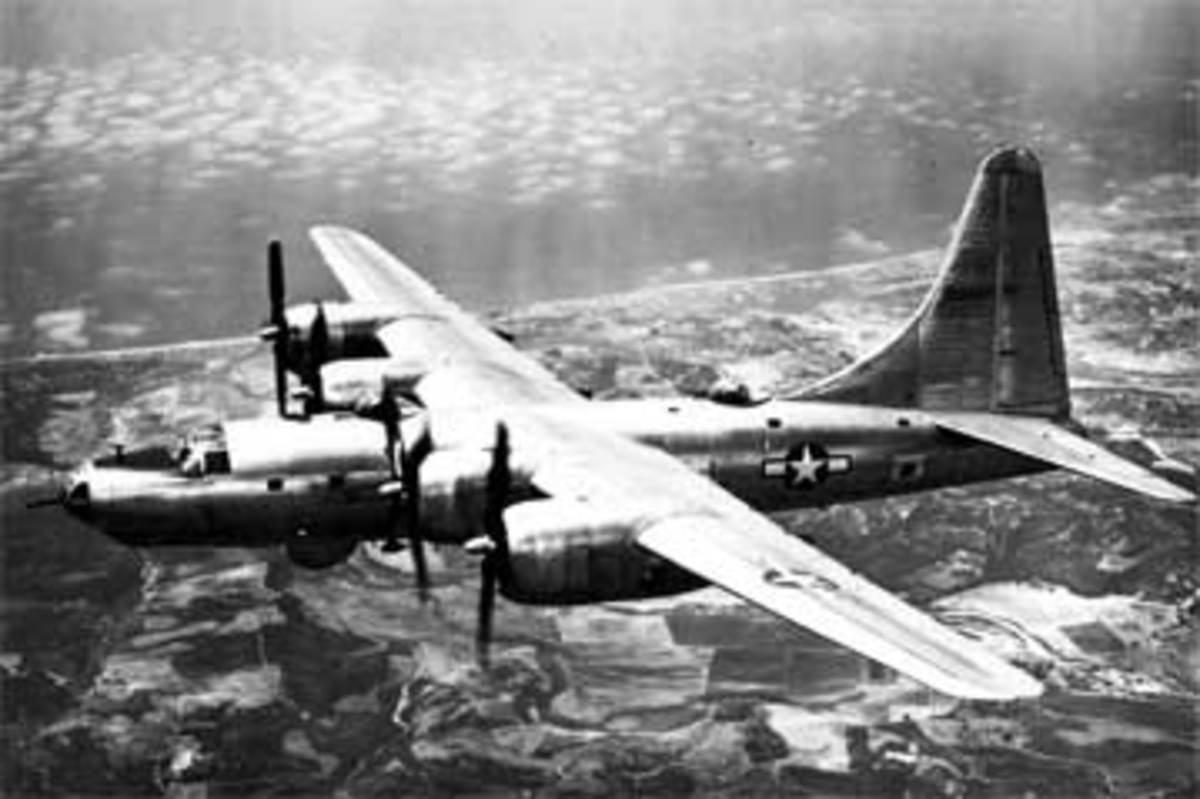 The B-32 was produced by Boeing's rival manufacturer Consolidated.