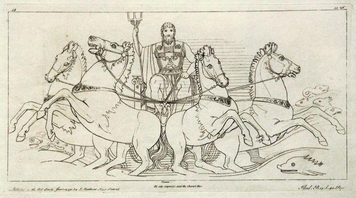 Kupferstich (1795) von Tommaso Piroli (1752 – 1824) nach einer Zeichnung (1793) von John Flaxman (1755 – 1826). PD-art-100