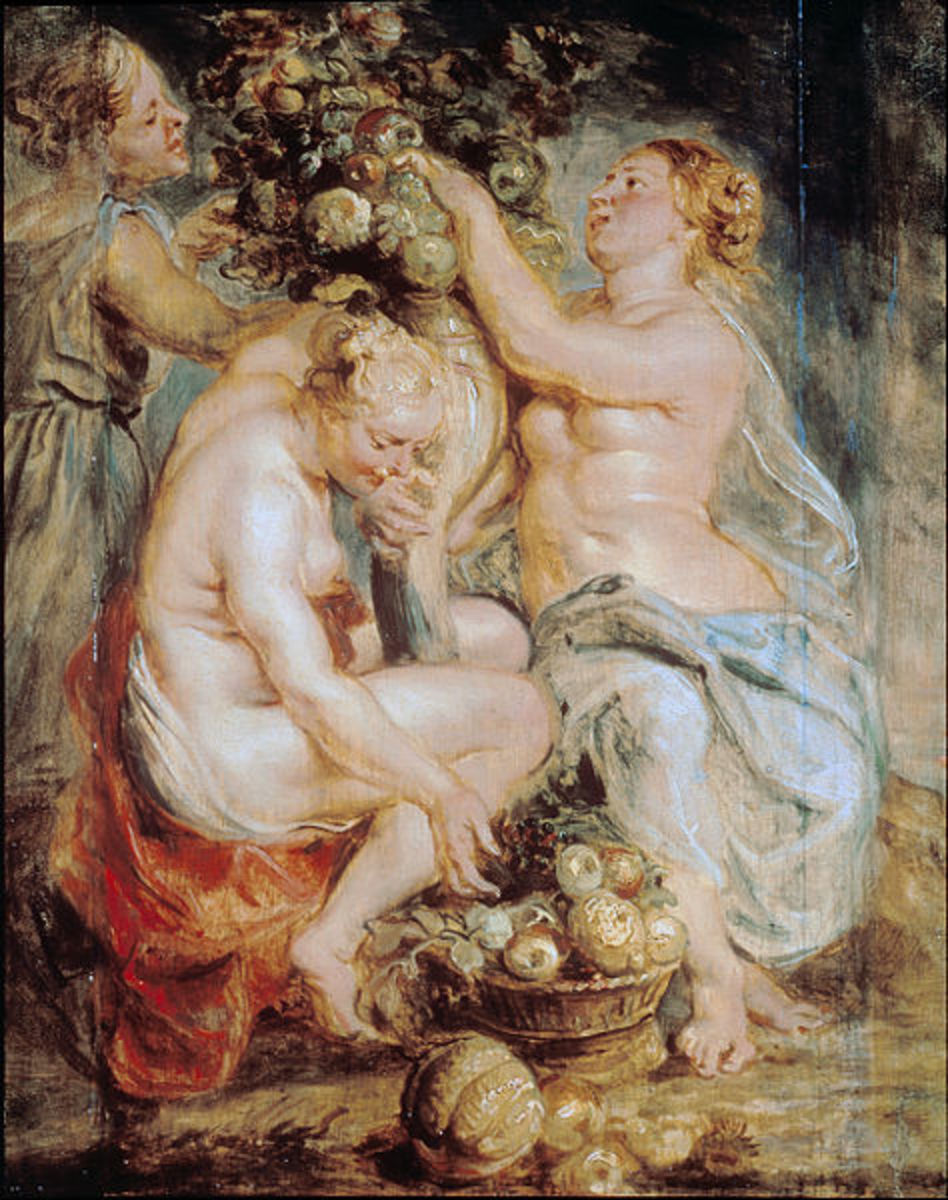 Rubens, Sir Peter Paul (1577 - 1640) Pd-art-100