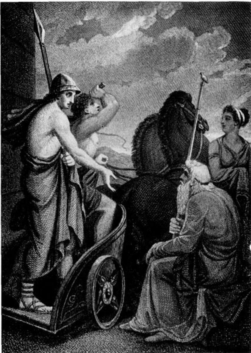 Nestor and Telemachus - Henry Howard (1769–1847) - PD-life-70