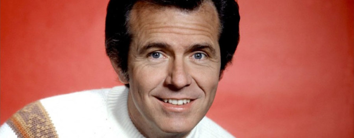 The classic Bob Eubanks look.