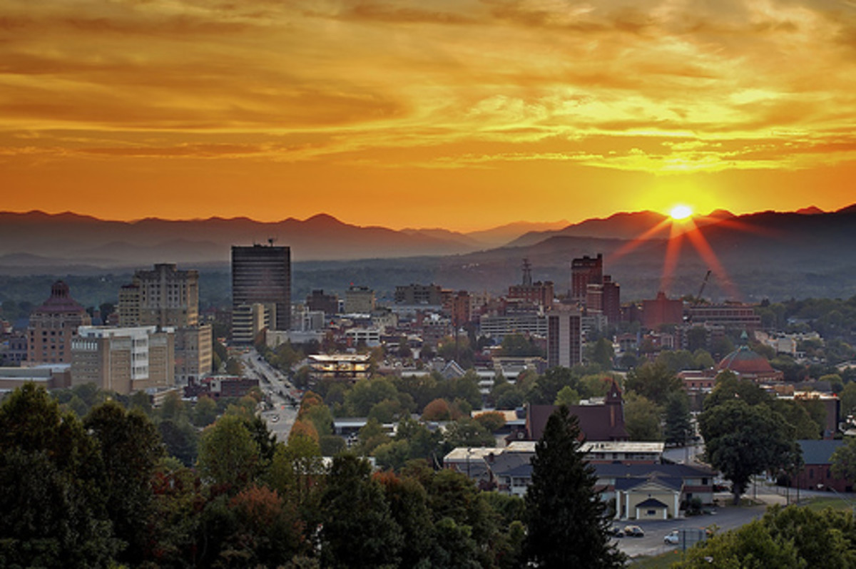 The Health and Happiness Vortex of Asheville, North Carolina