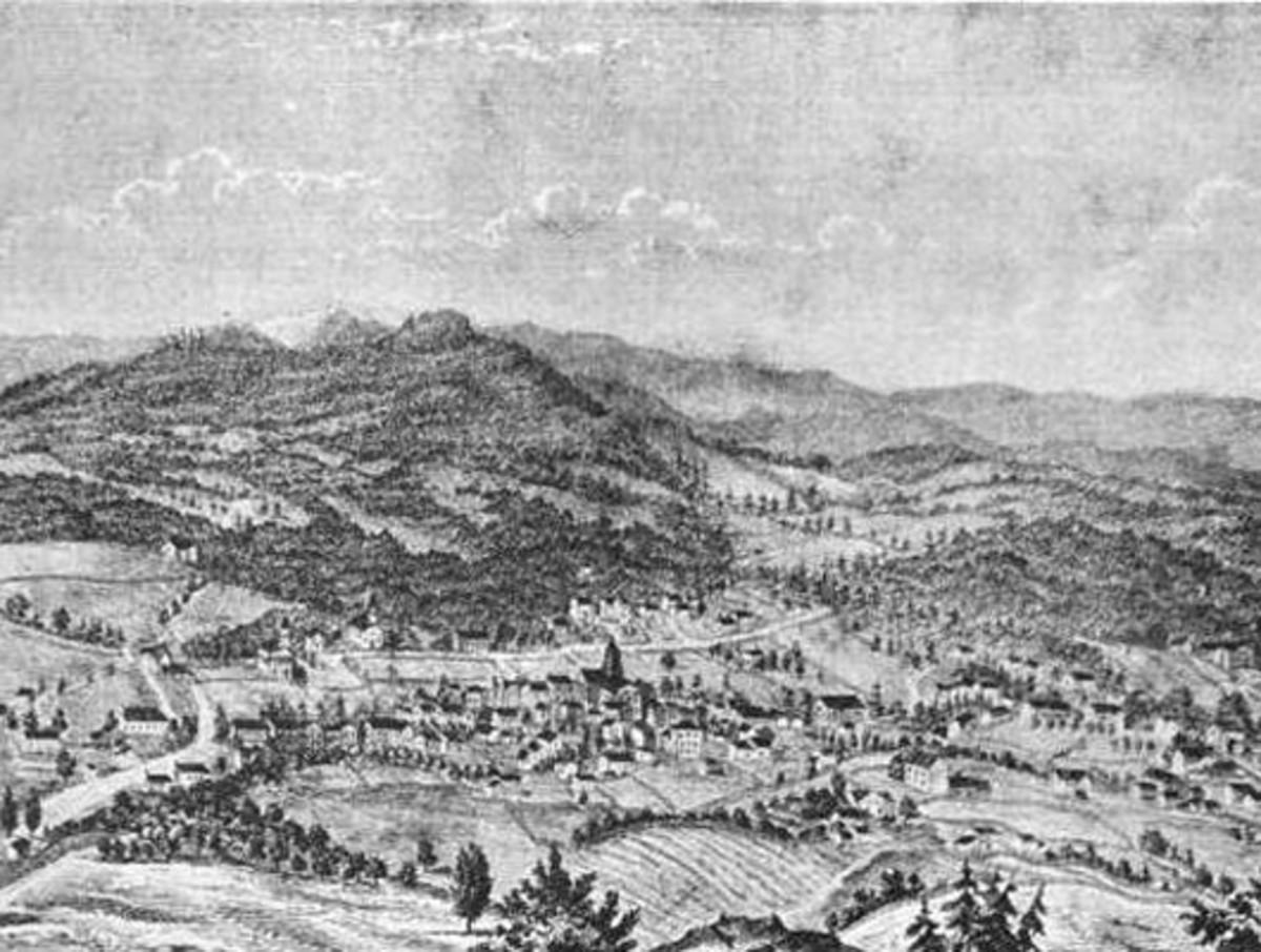 Asheville NC in 1854, Asheville Vortex