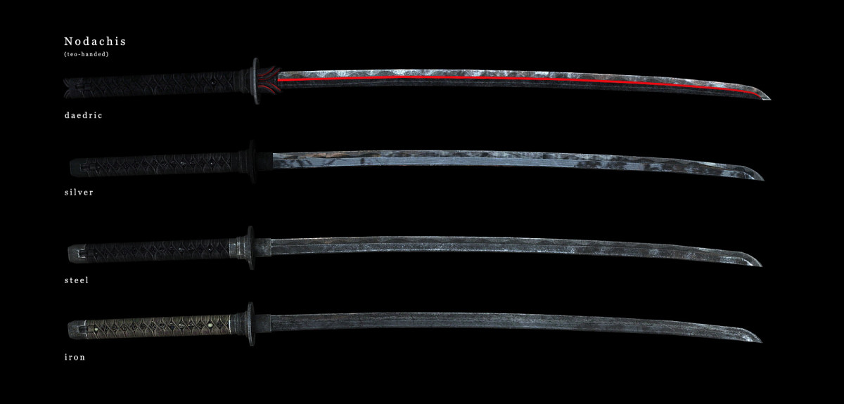 Weapons of the Third Era MoS edition by masterofshadows and 747823 originally adds gorgeous new weapons to Skyrim. Picture courtesy of Skyrim Nexus, Bethesda and Zenimax.