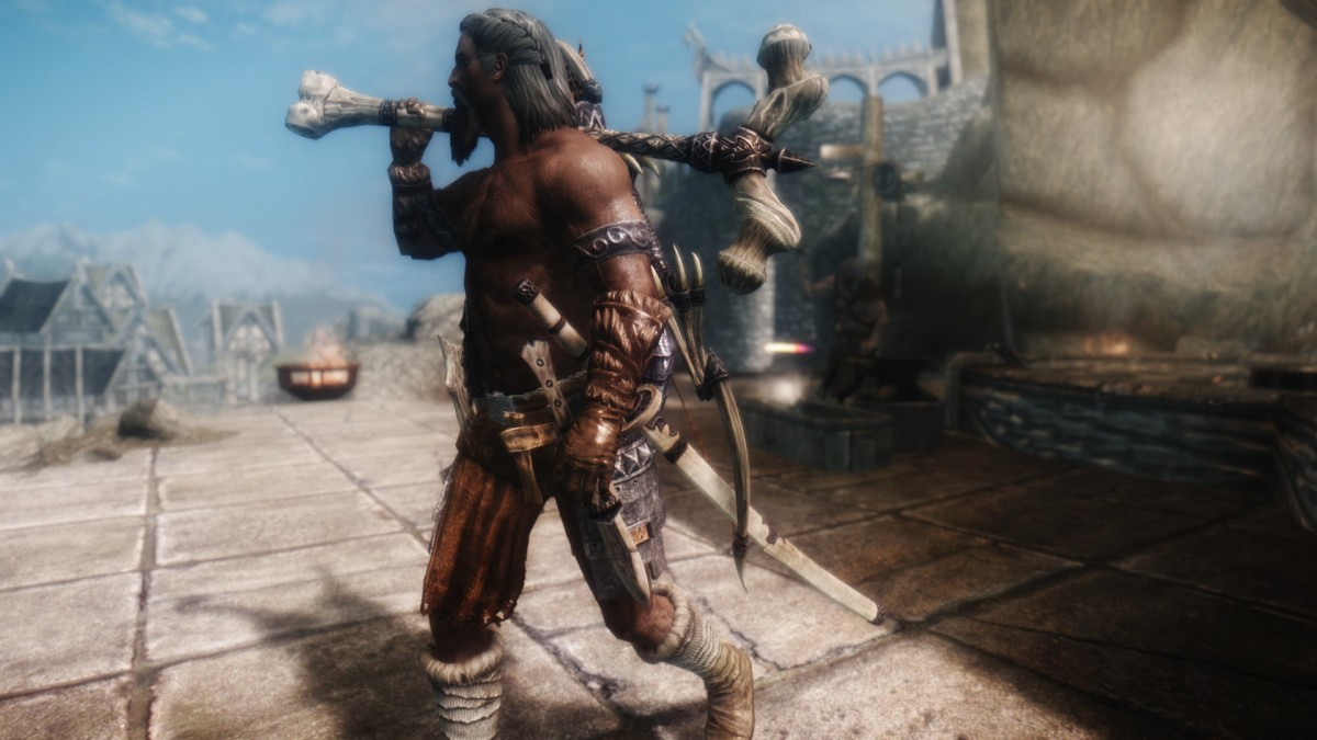 Best Skyrim Build One Handed Weapons