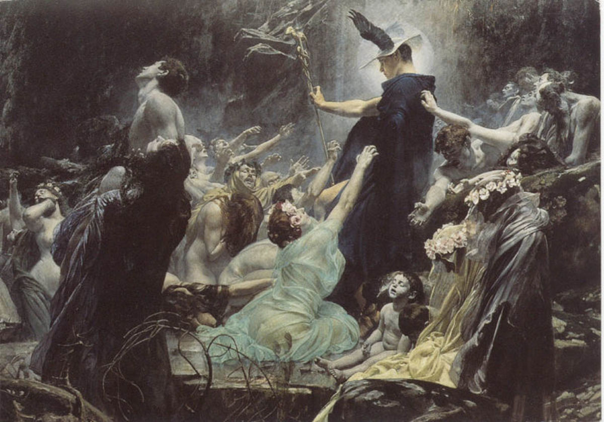 Adolf Hirémy-Hirschl (1860–1933) PD-art-100