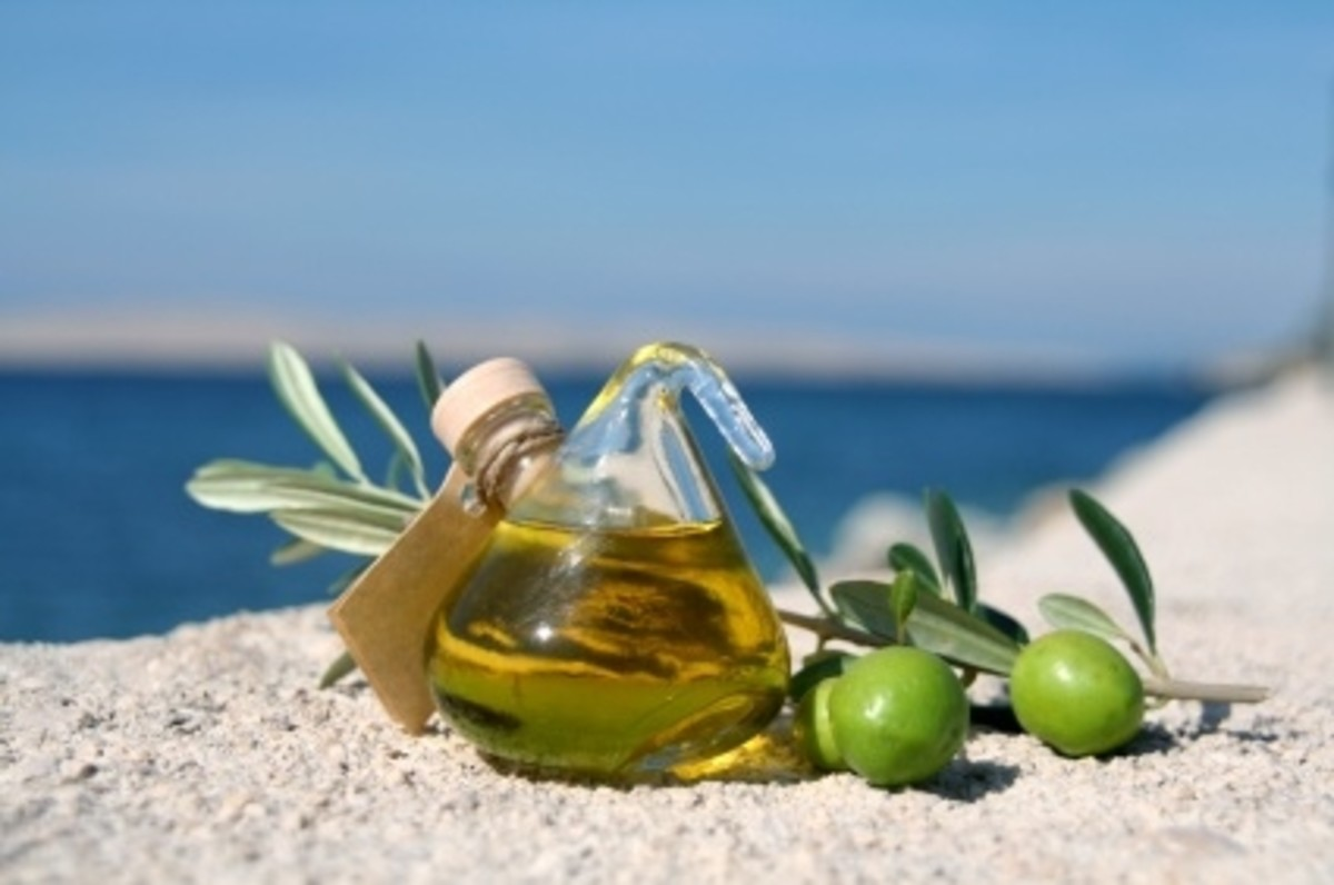Olive oil is widely used in the Mediterranean diet.