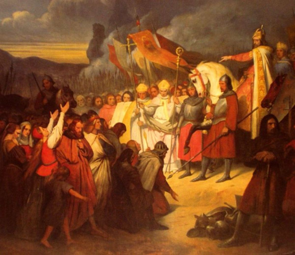 Massacre of Verden by Army of Charlemagne