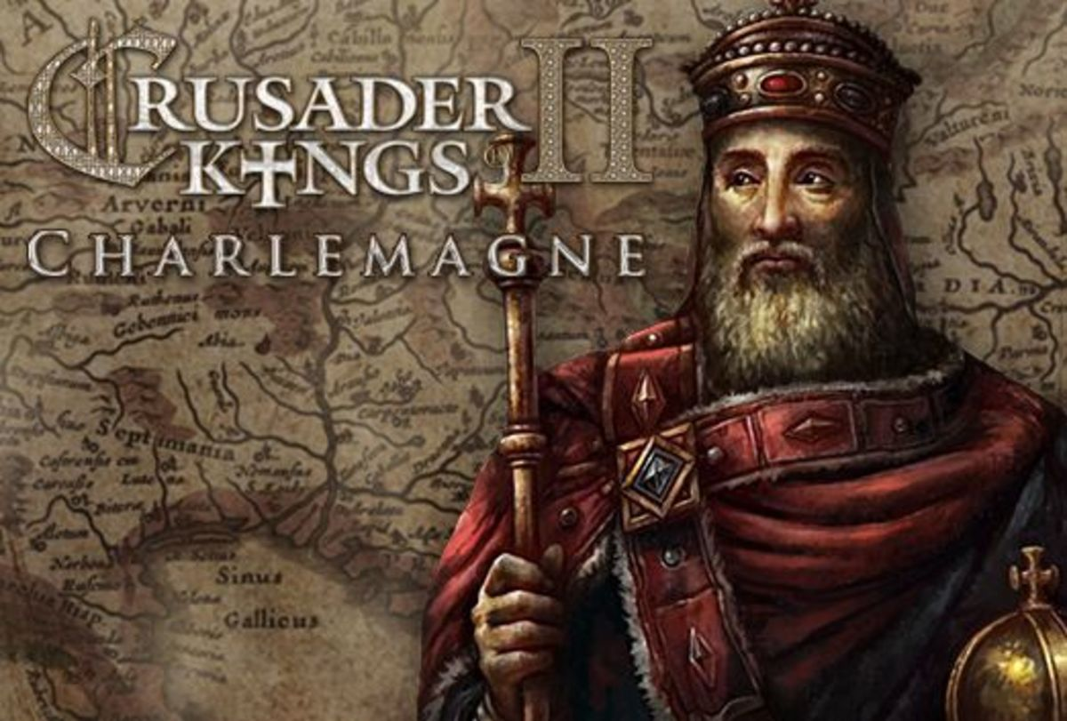 The Frankish and Roman king Charlemagne who laid the foundations for modern France and Germany