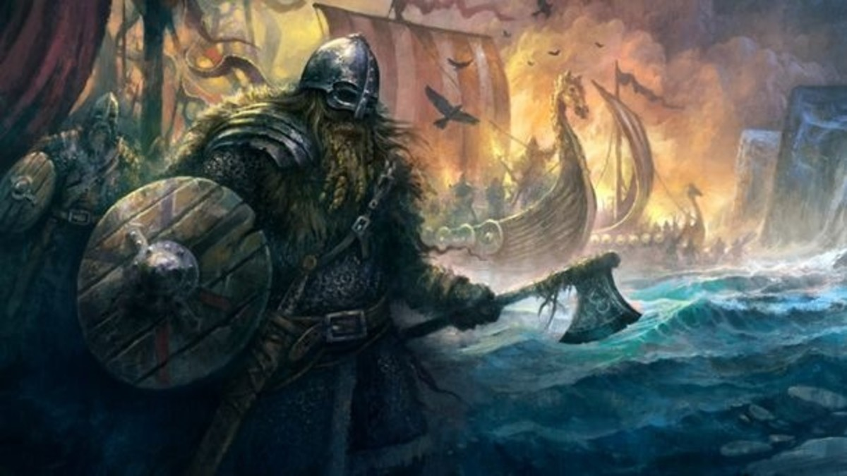 The Origin of the Viking Raids and the Christian Threat
