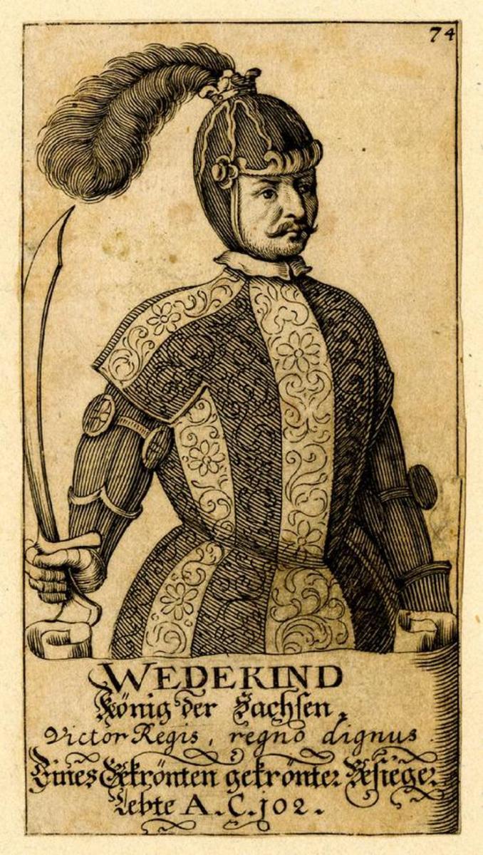 King Widukind of Denmark
