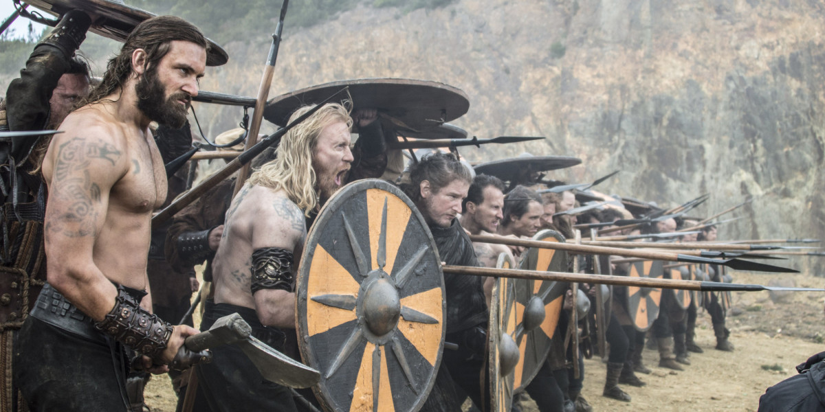 The Vikings prepared to defend their homelands after the Christian threat.