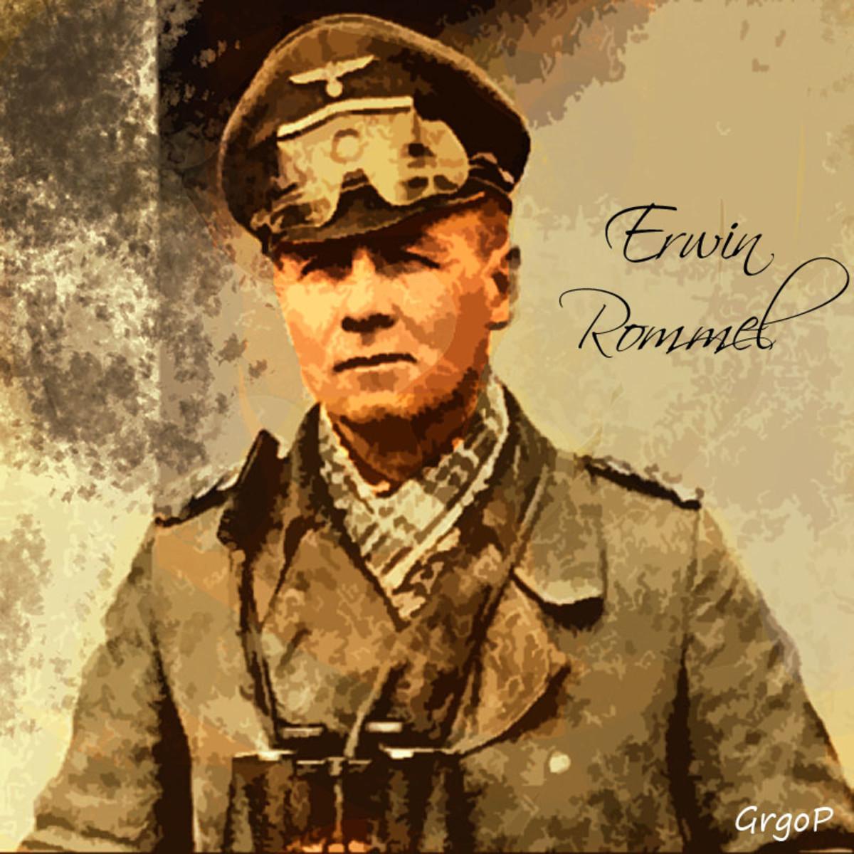 """Erwin Rommel, the """"Desert Fox"""""""