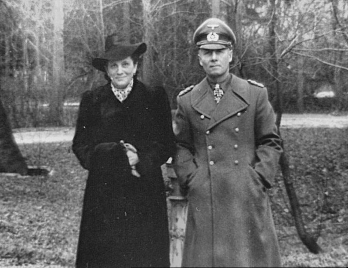Rommel with his wife