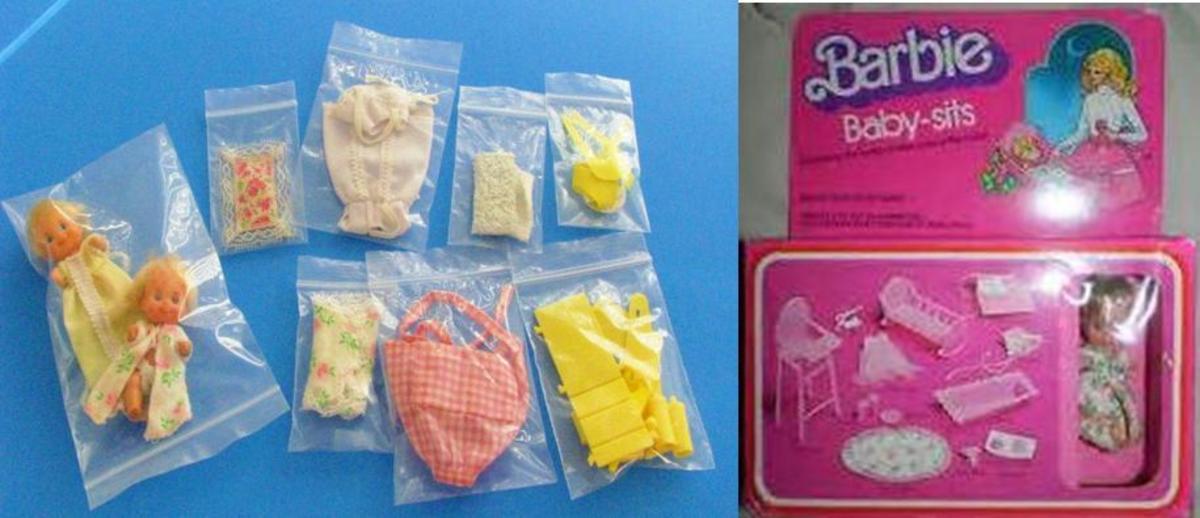 Barbie Baby Sets/Sits #7882