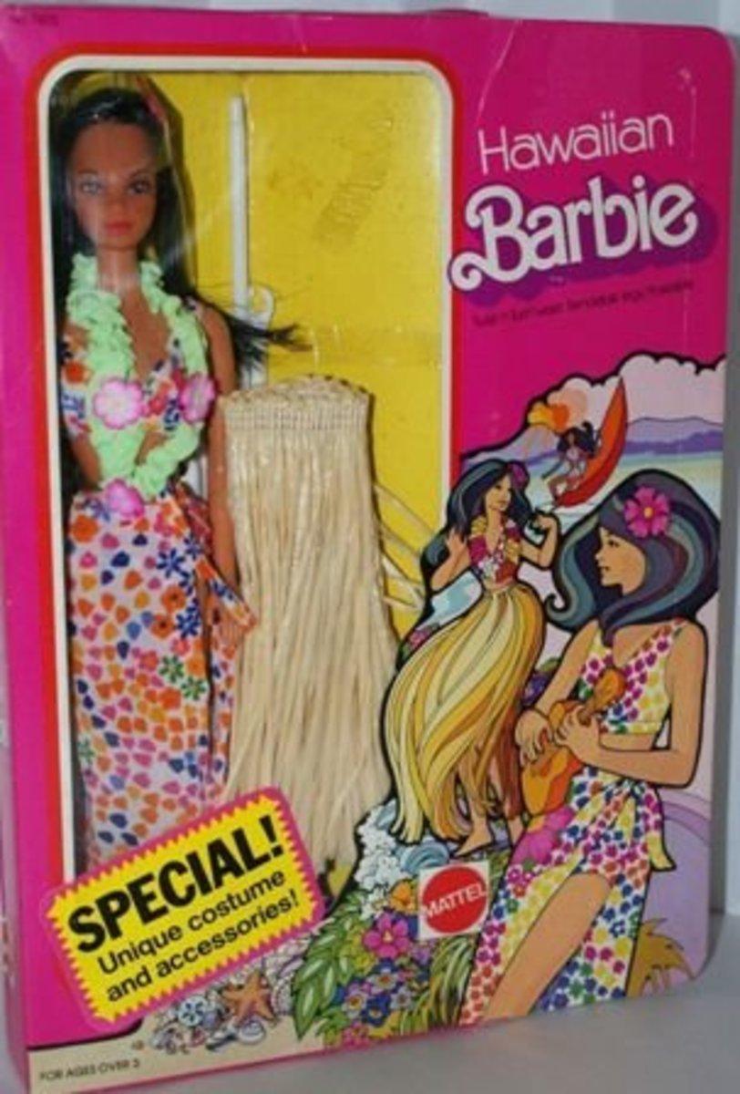 Hawaiian Barbie