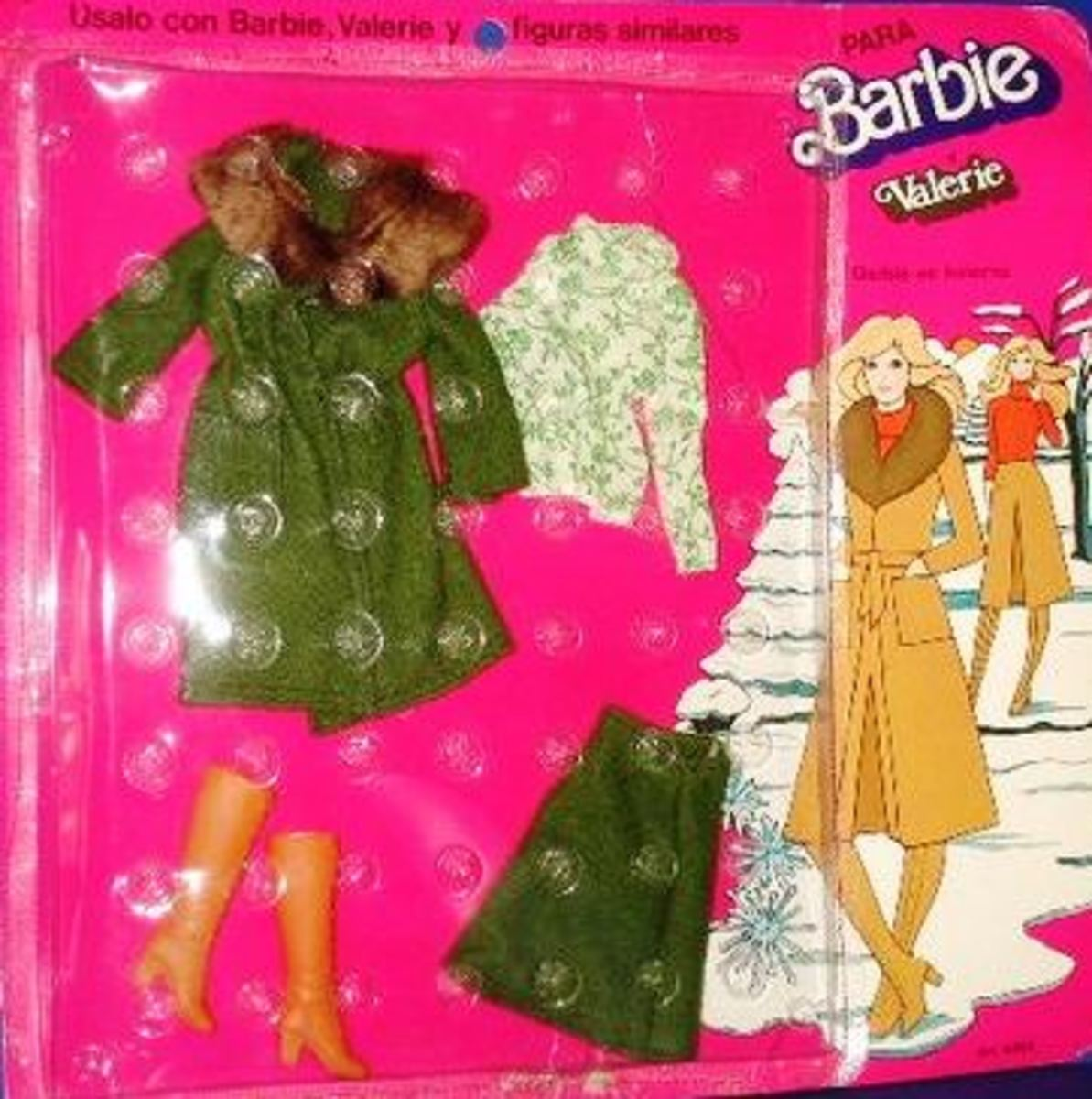 Barbie Doll's World in 1975