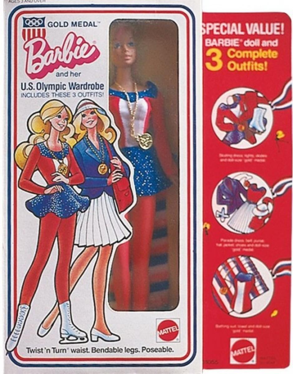 U.S. Olympic Barbie #9044, 1975