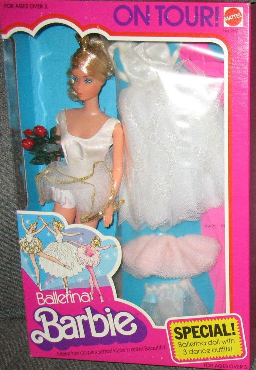 Ballerina Barbie on Tour