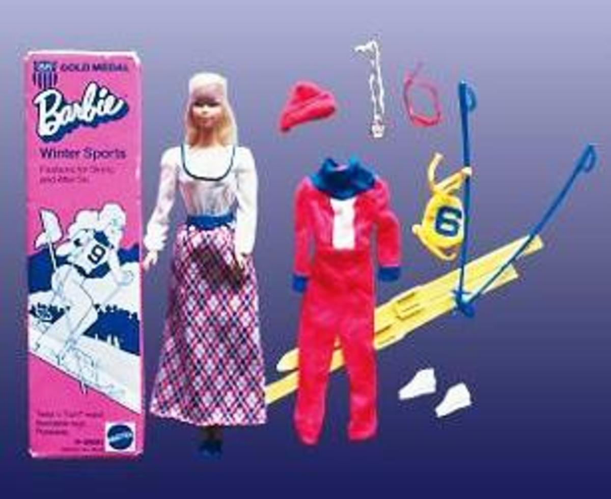 Barbie Doll Gold Medal Winter Sports (#9042)