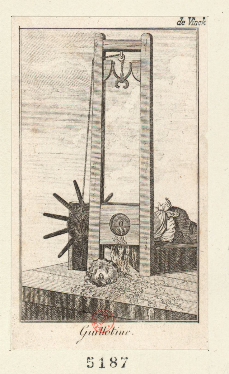 Image of the guillotine