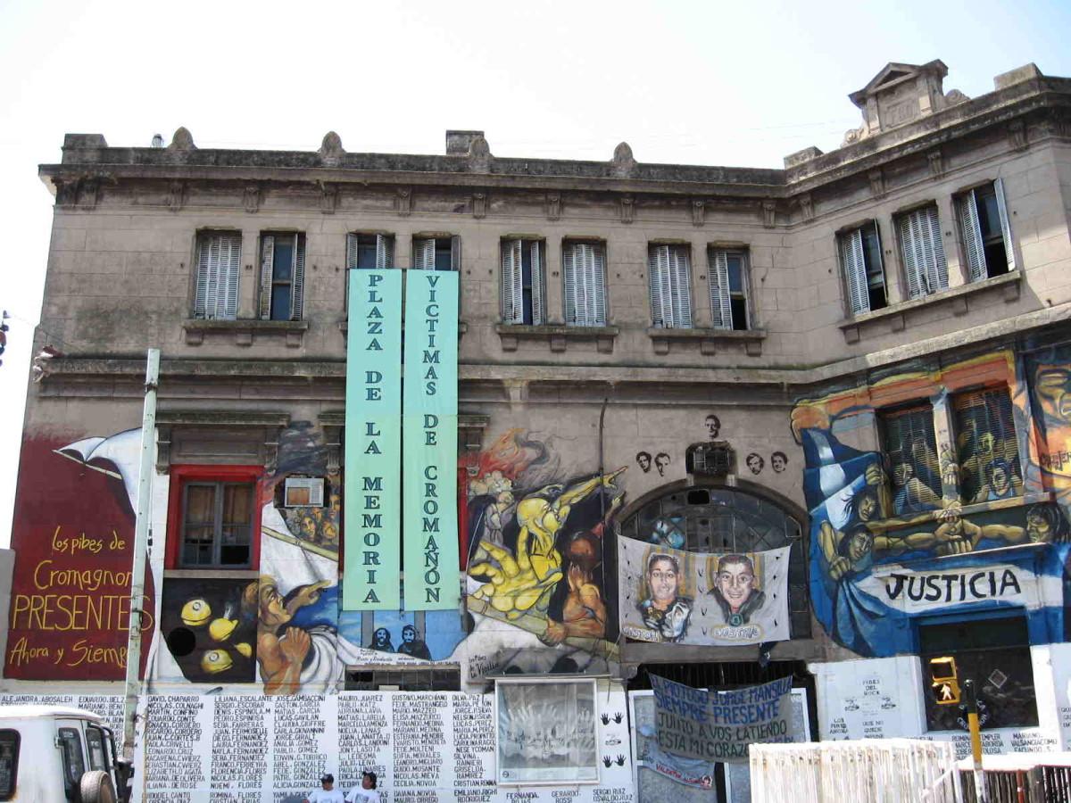 República Cromañón nightclub fire mural