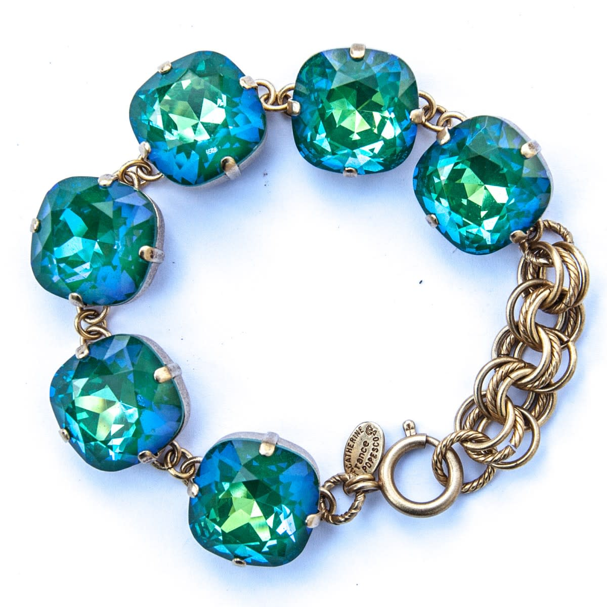Ocean colored bracelet