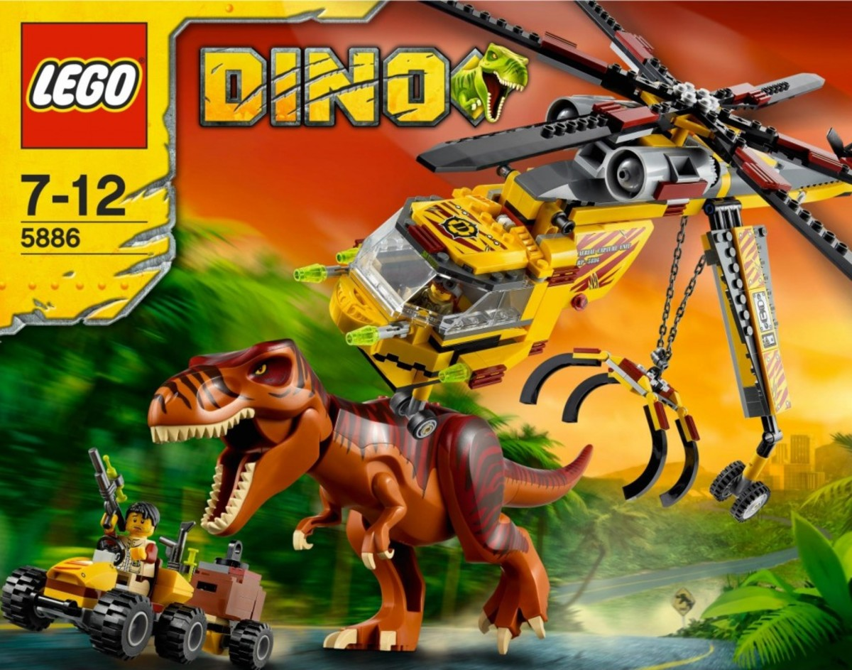 LEGO Dino T-Rex Hunter 5886 Box