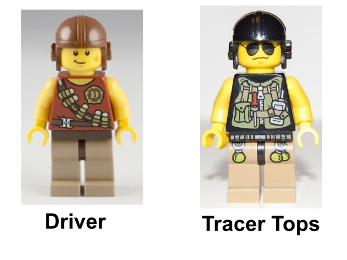 LEGO Dino Triceratops Trapper 5885 Minifigures