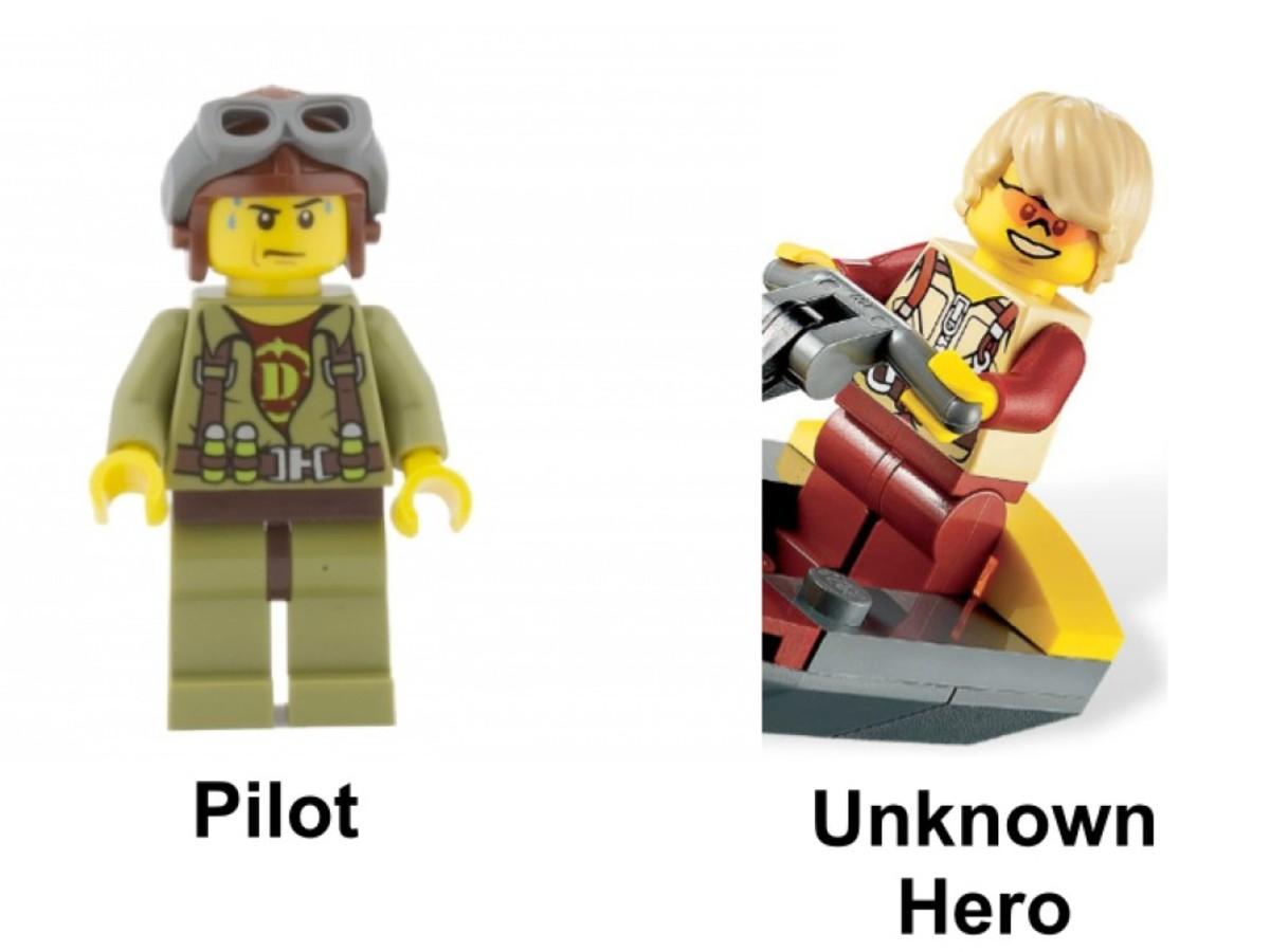 LEGO Dino Ocean Interceptor 5888 Minifigures