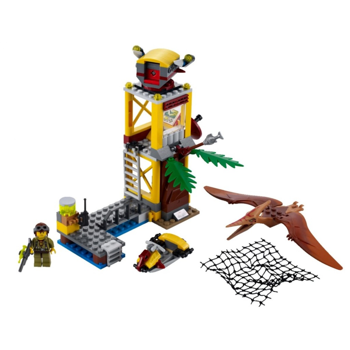 LEGO Dino Tower Takedown 5883 Assembled