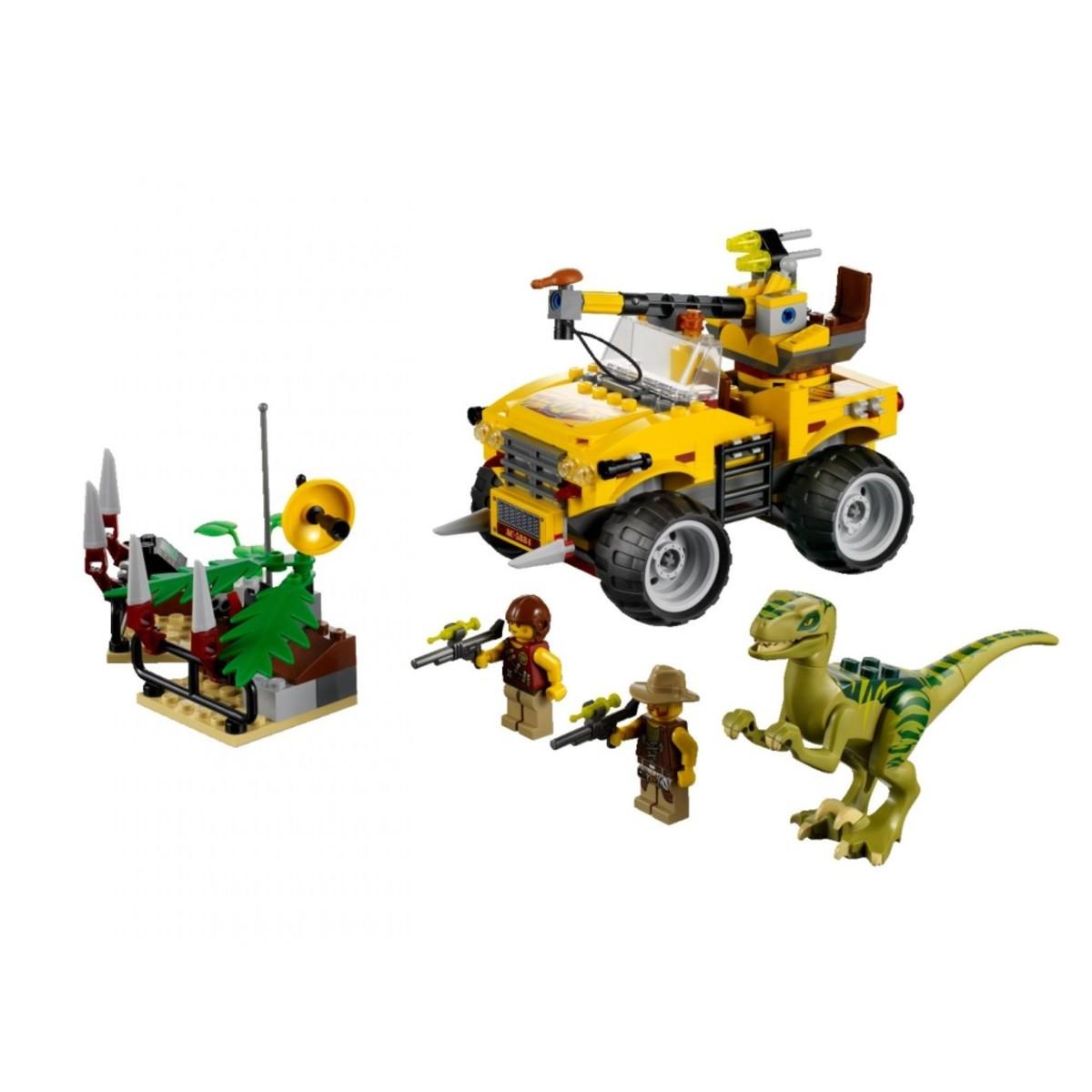 LEGO Dino Raptor Chase 5884 Assembled