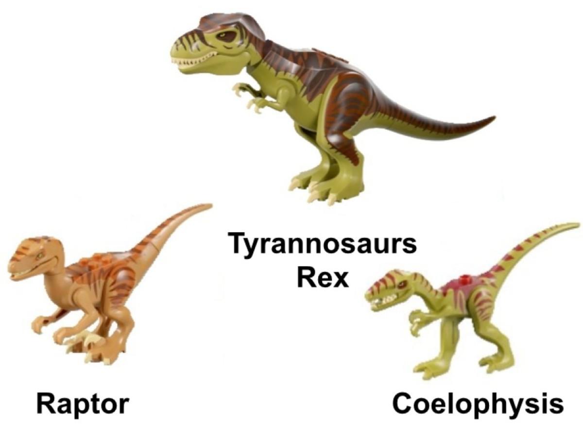 LEGO Dino Dino Defense HQ 5887 Dinosaur Minifigures
