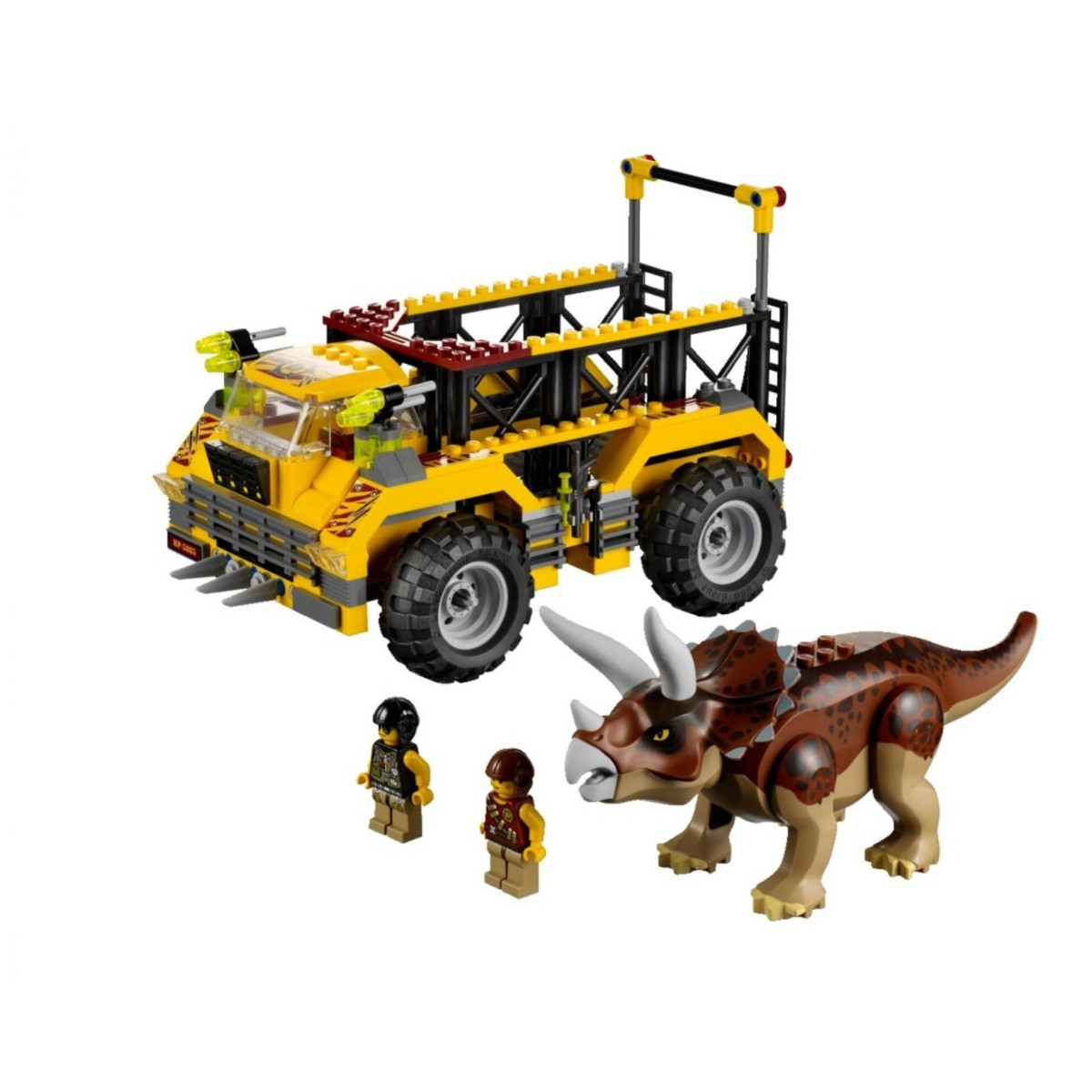 LEGO Dino Triceratops Trapper 5885 Assembled
