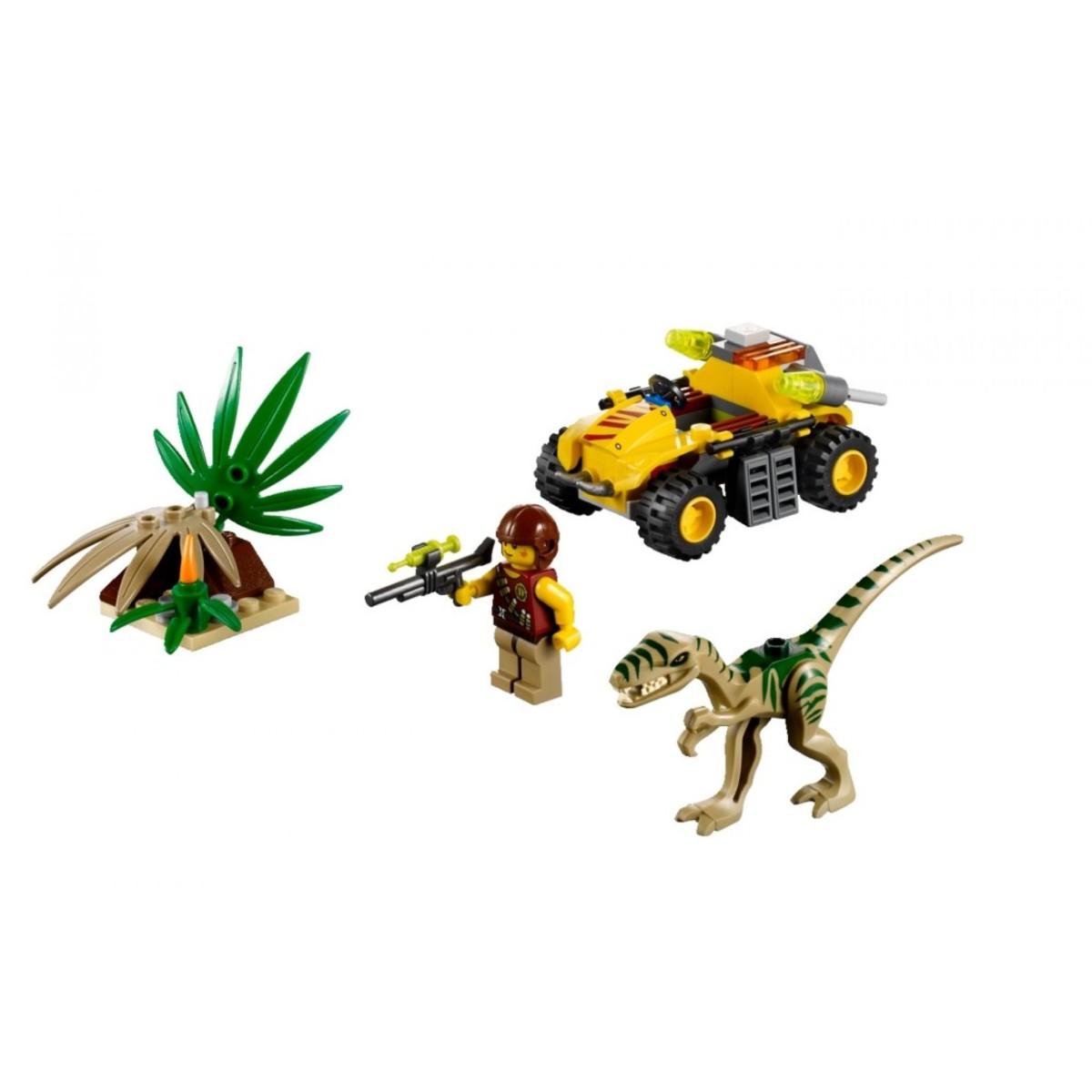 LEGO Dino Ambush Attack 5882 Assembled