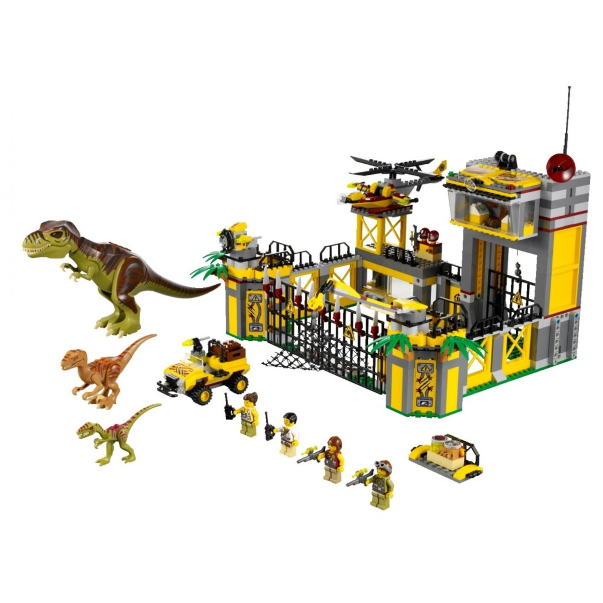 LEGO Dino Dino Defense HQ 5887 Assembled