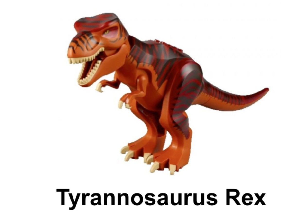 LEGO Dino T-Rex Hunter 5886 Tyrannosaurs Rex Minifigure