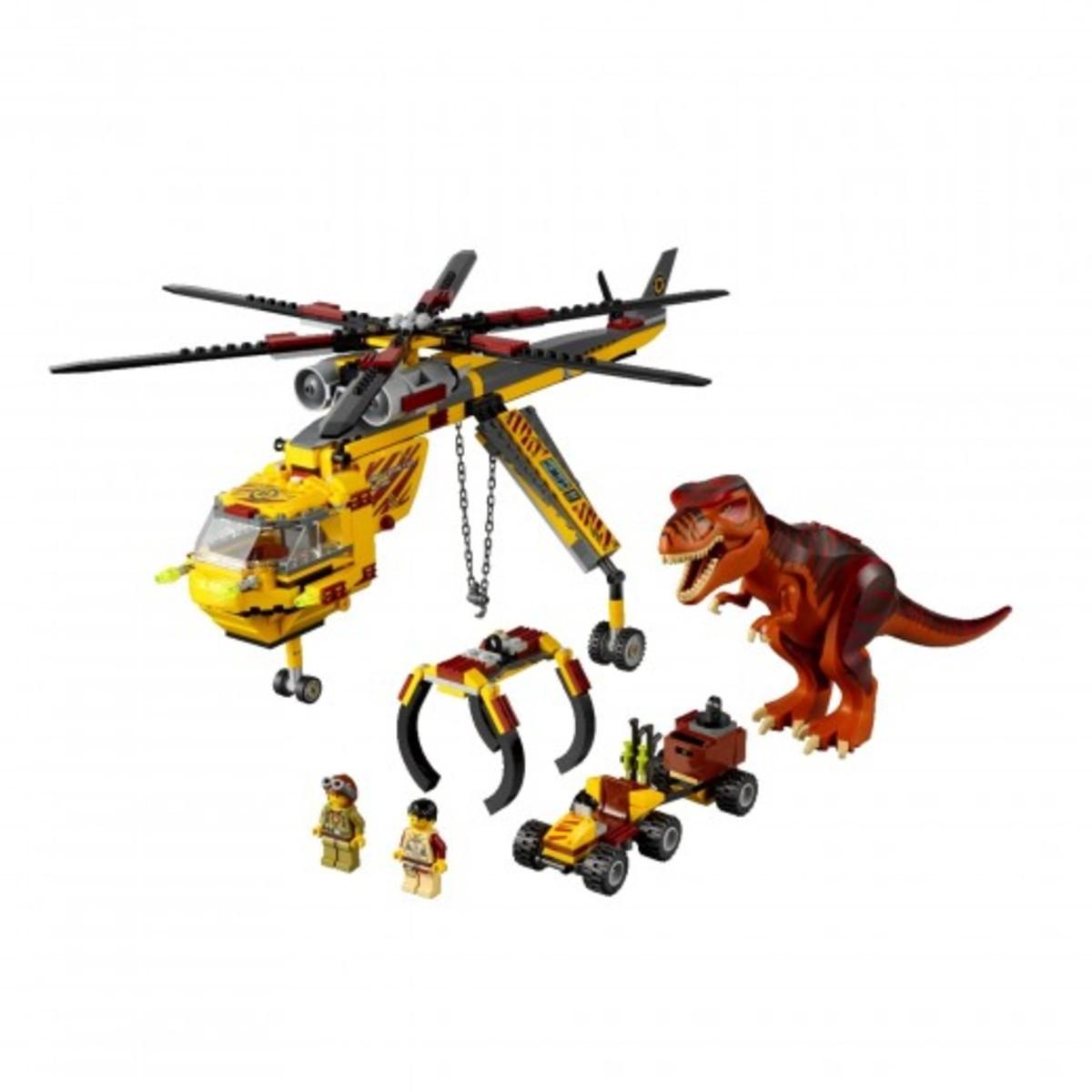 LEGO Dino T-Rex Hunter 5886 Assembled