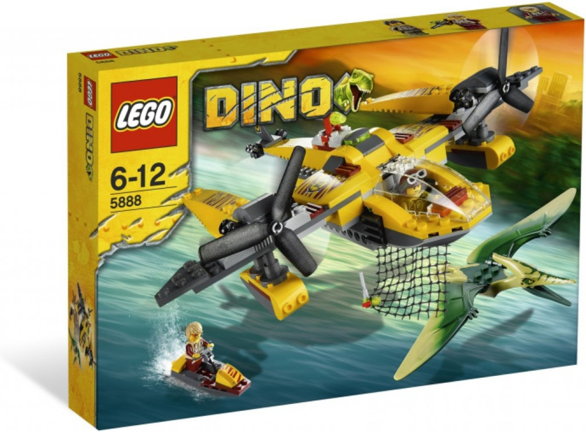 LEGO Dino Ocean Interceptor 5888 Box