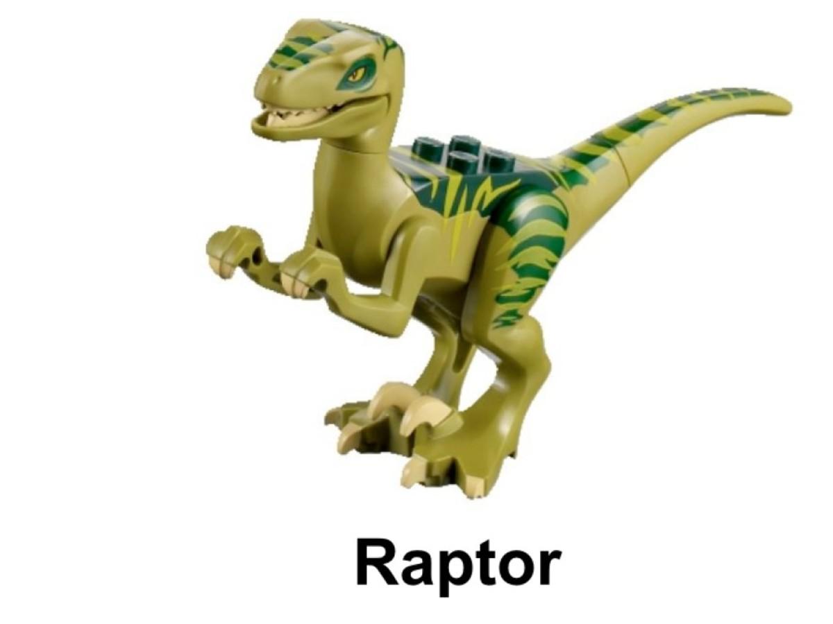LEGO Dino Raptor Chase 5884 Raptor Minifigure